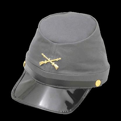 Civil War Confederate Kepi Cap