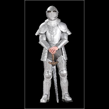 Armored Knight Men's Costume