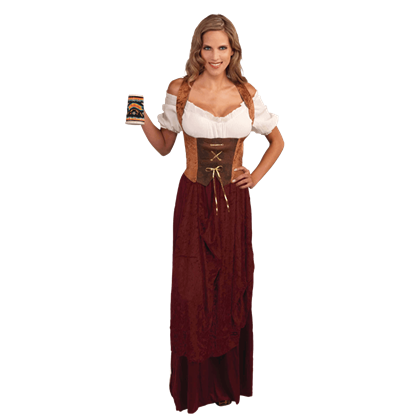 Brown Medieval Corset