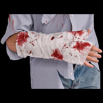 Bloody Arm Bandage