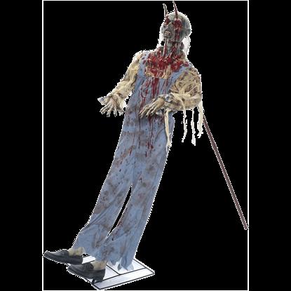 Leaning Impaled Farmer Victim