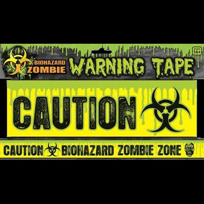 Biohazard Zombie Warning Tape