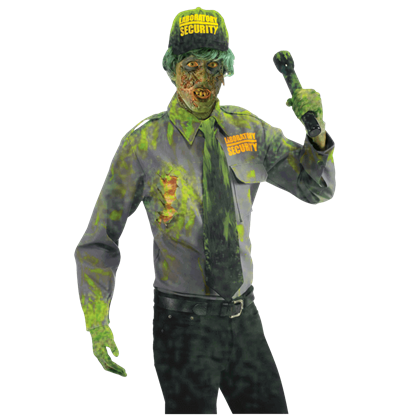 Biohazard Zombie Security Guard Costume