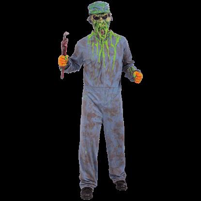 Biohazard Zombie Janitor Costume