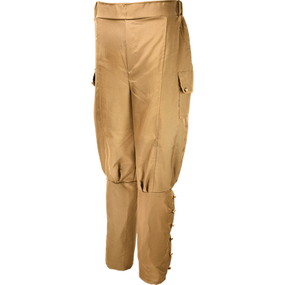Brown Steampunk Pants