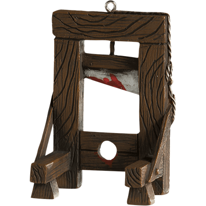 Guillotine Horror Ornament