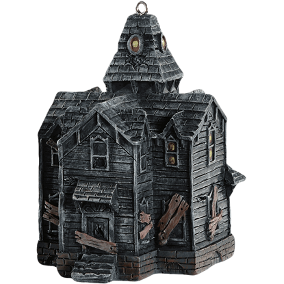 Haunted House Horror Ornament