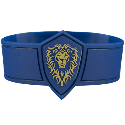 Warcraft Movie Alliance Rubber Bracelet