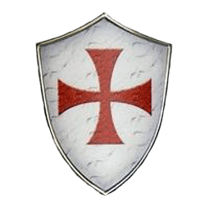 Miniature Knights Templar Shield by Marto