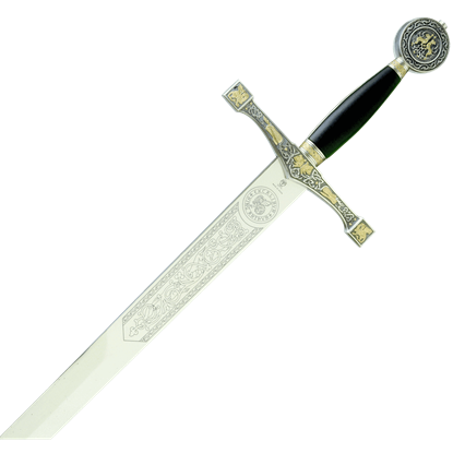 Gold and Silver Excalibur by Marto