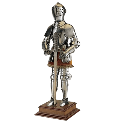 Miniature 16th Century Spanish Armor with Sword by Marto