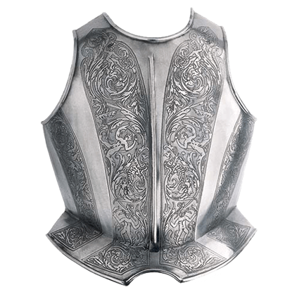 Engraved Spanish Breastplate by Marto