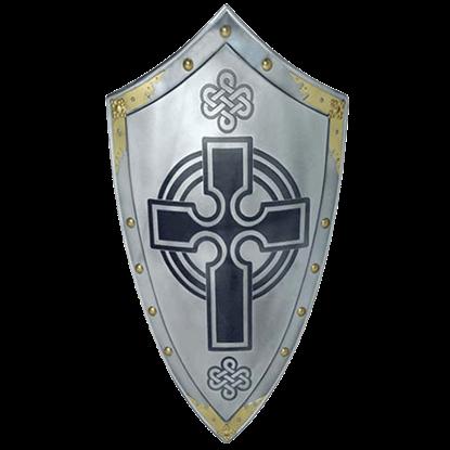 Templar Knight Scottish Cross Shield by Marto