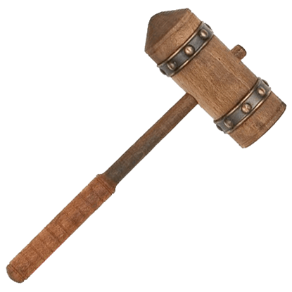 Bronze Conan the Barbarian Miniature Hammer of Thorgrim by Marto