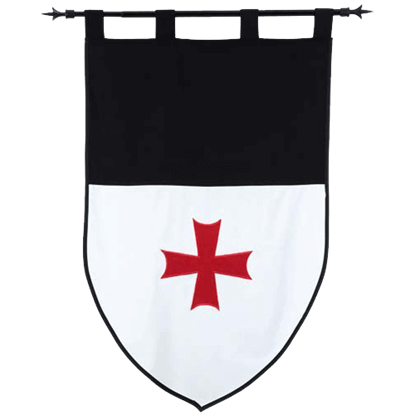 Templar Knight Order of the Templars Banner by Marto