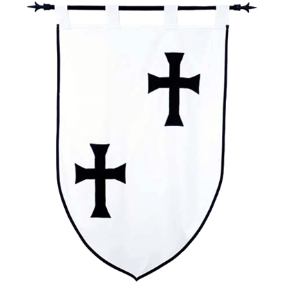 Templar Knight Teutonic Order Banner by Marto