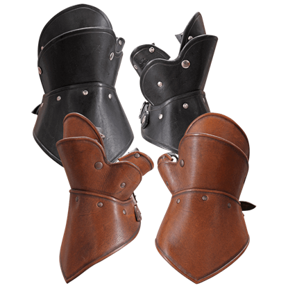 Decius Leather Gauntlets