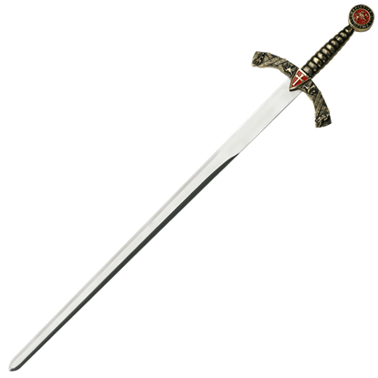 Intricate Knight's Sword