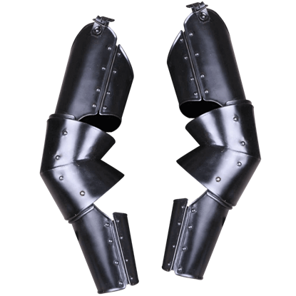 Blackened Markward Full Arm Guards