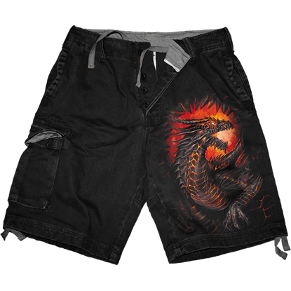 Dragon Furnace Cargo Shorts