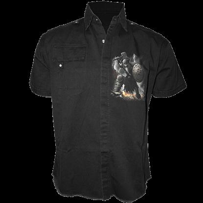 Celtic Warrior Short Sleeved Work Shirt