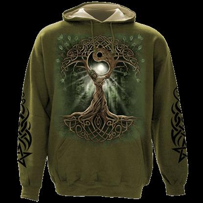 Oak Queen Celtic Hoodie