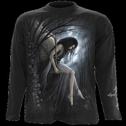 Angel Lament Mens Long Sleeve T-Shirt