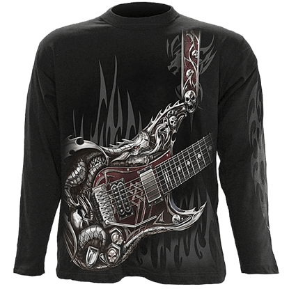 Air Guitar Mens Long Sleeve T-Shirt