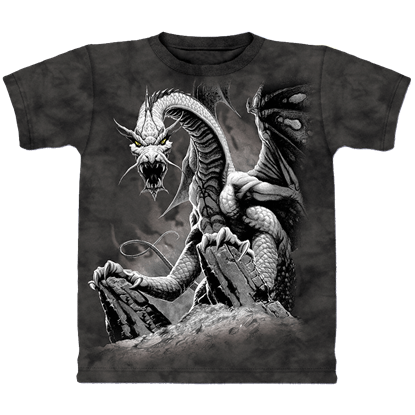 Black Dragon Child's T-Shirt