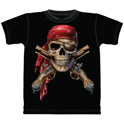Skull And Flintlocks Child's T-Shirt