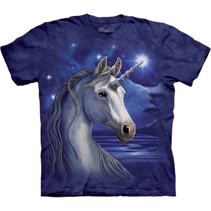 Kids Unicorn Night T-Shirt