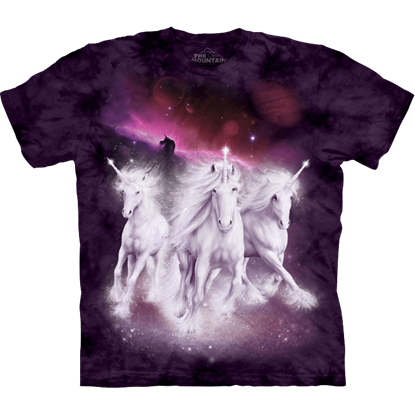 Kids Cosmic Unicorns T-Shirt