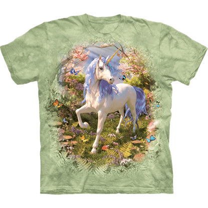 Childs Unicorn Forest T-Shirt