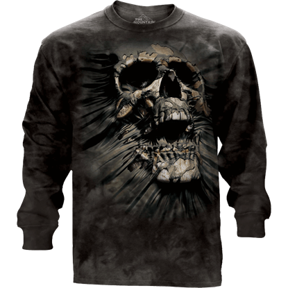 Breakthrough Skull Long Sleeve T-Shirt