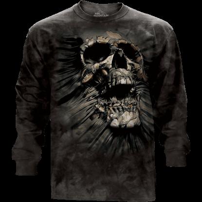 Breakthrough Skull Long Sleeve T-Shirt