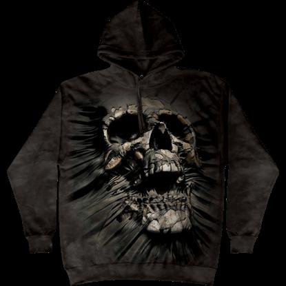 Break Through Skull Hoodie