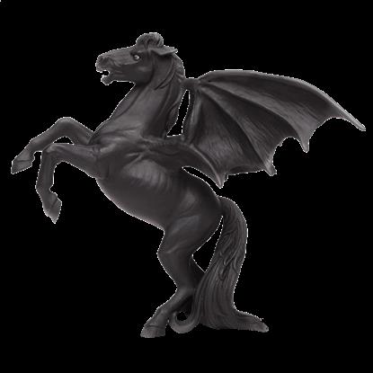 Areion The Black Pegasus Figure