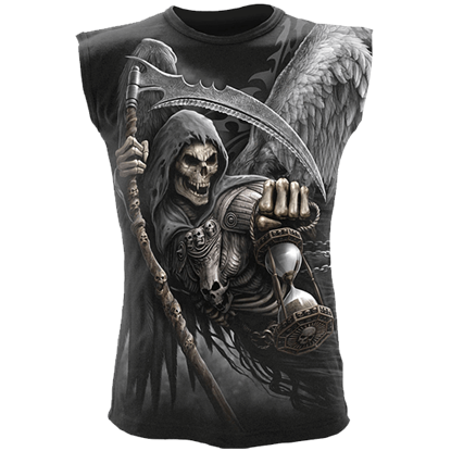 Death Angel Wrap Sleeveless Shirt