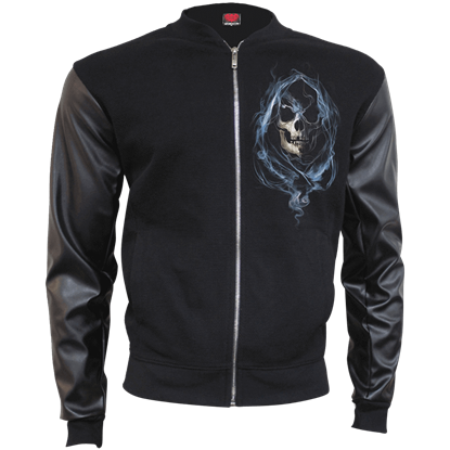 Ghost Reaper Bomber Jacket