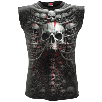 Death Ribs Sleeveless T-Shirt