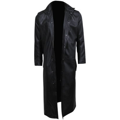 Just Tribal Mens Gothic Trench Coat