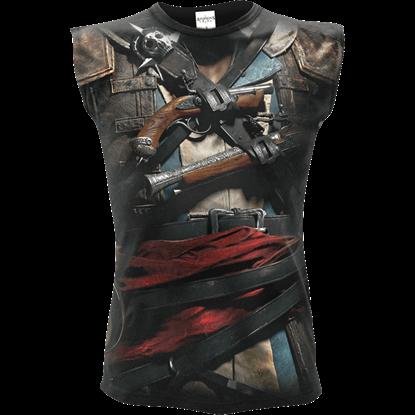 Assassins Creed IV Black Flag Edward Sleeveless T-Shirt