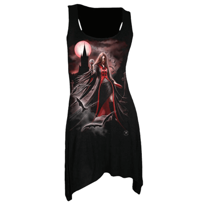 Blood Moon Gothic Womens Dress