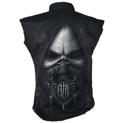 Evil Sleeveless Mens Work Vest