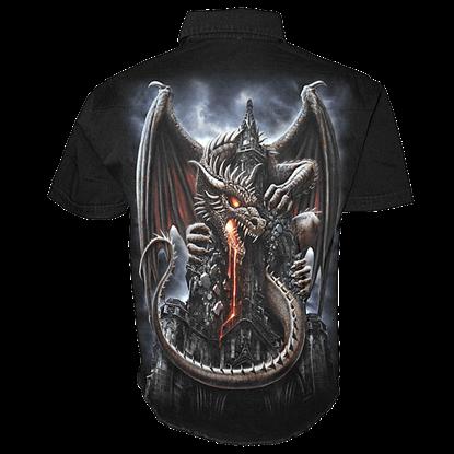 Dragon Lava Short Sleeve Workshirt