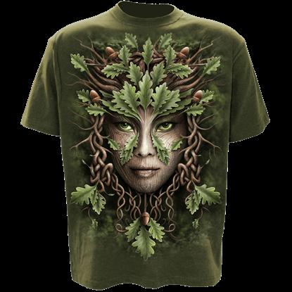 Oak Queen Celtic T-Shirt