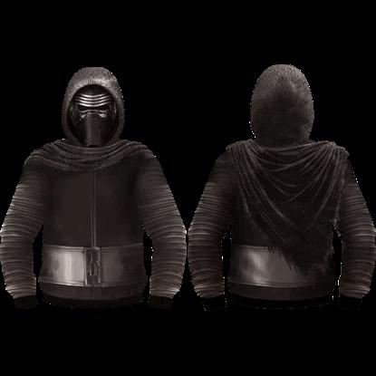 Kylo Ren Armor and Helmet Hoodie