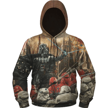 Imperial Attack Embossed Fleece Hoodie