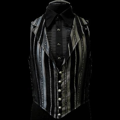 Striped Victorian Aristocrat Vest
