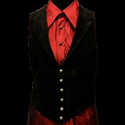 Velvet Victorian Aristocrat Vest